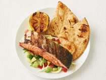 Indian spiced grilled salmon
