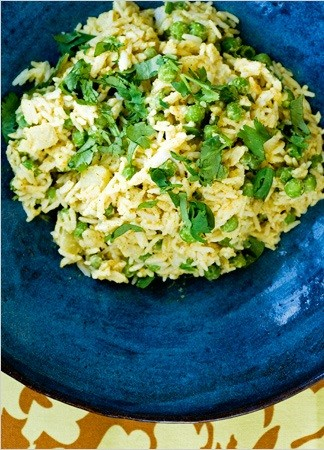 Indian-style rice salad