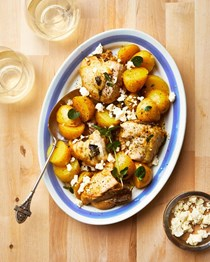 Instant Pot freezer meal: Greek-style lemon chicken and potatoes