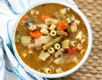 It's almost spring minestrone