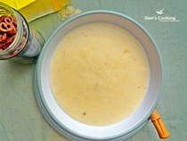 Jamaican cornmeal porridge