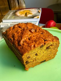 James Beard's persimmon bread