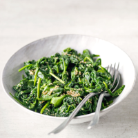 Japanese-style sesame spinach