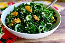 Kale citrus salad
