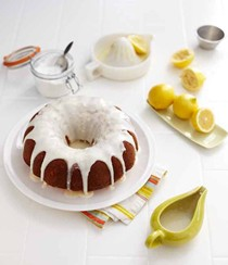 Lady Bird lemon bundt-style cake