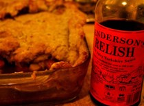 Lamb and Henderson's relish pie