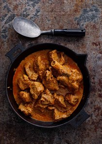 Lamb curry (Laal maas)