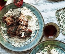 Lamb in coriander sauce from Cochin [Dr Essie Sassoon, Bala Menon ad Kenny Salem]