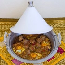 Lamb kefta & egg tagine