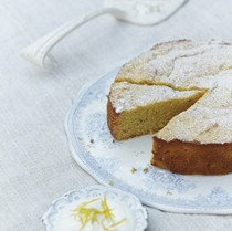 Lavender, lemon & honey cake