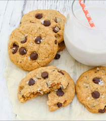 Legendary chocolate chip cookies