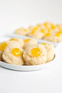 Lemon gumdrop cookies