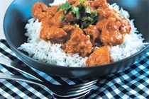 Light butter chicken