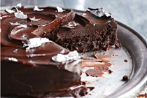 Little black dress chocolate cake