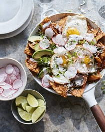 Loaded chilaquiles