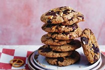 Magdalena Roze's chewy chocolate and salted-pretzel cookies