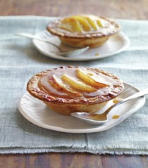 Maple-apple butter pies