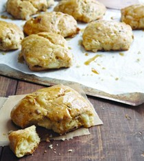 Maple-bacon-cheddar biscuits
