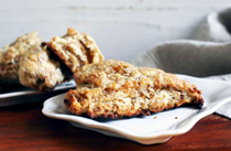 Maple parsnip scones