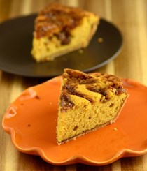 Maple pumpkin snickerdoodle pie