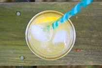 Maple-sweetened lemonade