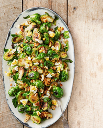 Marcel Vigneron's Brussels sprouts Polonaise