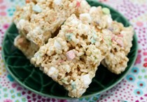 Marshmallow lovers Rice Krispie treats