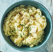 Mashed cauliflower & Yukon Golds