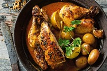 Massaman roast chicken