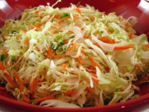 Mexican cabbage slaw (Quick curtido)
