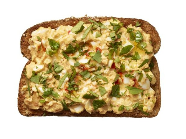 Middle eastern egg salad toast recipe eat your books middle eastern egg salad toast view larger forumfinder Choice Image