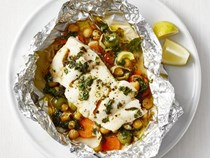Middle Eastern foil-packet fish