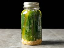 Milwaukee dill refrigerator pickles