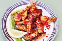 Miso-grilled hot wings