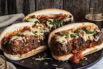 Moroccan meatball subs