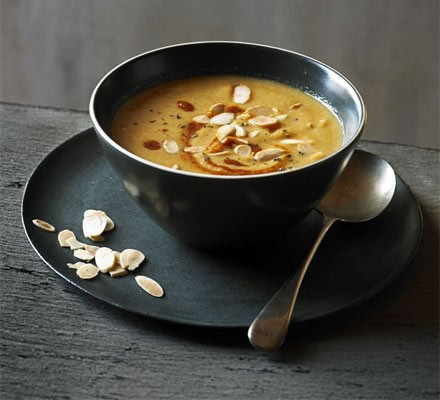Bbc good food magazine home cooking series vegetarian christmas moroccan spiced cauliflower almond soup forumfinder Gallery