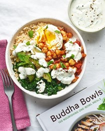 Moroccan-spiced chickpea bowls