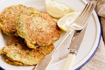 Mussel and zucchini fritters