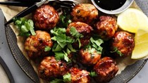 Neil Perry's Japanese-style chicken meatballs