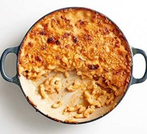 Next level mac 'n' cheese with marmite