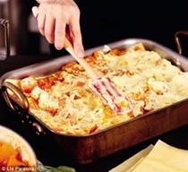 Nigella's pumpkin and goat's cheese lasagne