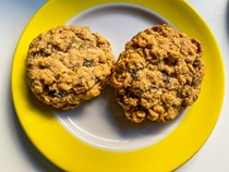 Oatmeal raisin cookies that will keep you sane
