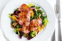 Orange, cranberry & walnut salad
