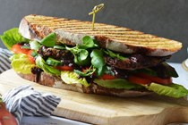 Orchard workers' steak sandwich