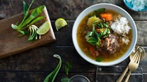 Oxtail soup (Soup hang wuao)