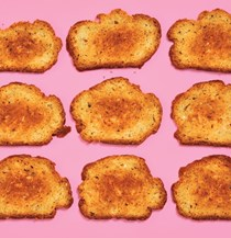 Parm toasts