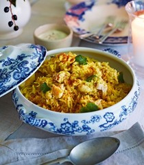 Parsnip, haddock and cardamom kedgeree