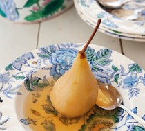 Pears in verjuice