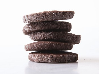 Pepper and spice dark chocolate cookies