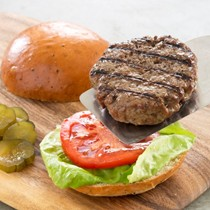 Perfect grilled hamburgers